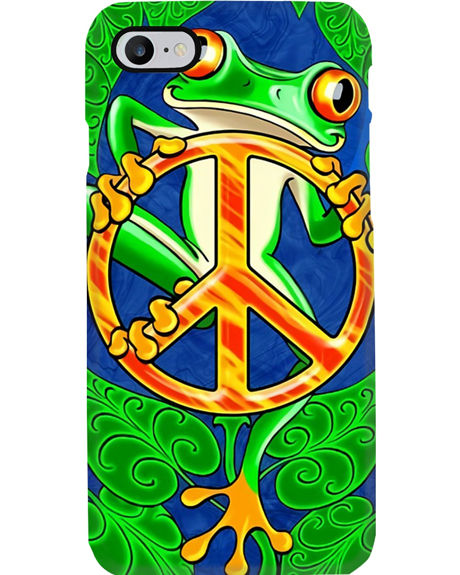 peace frog  Phone Case