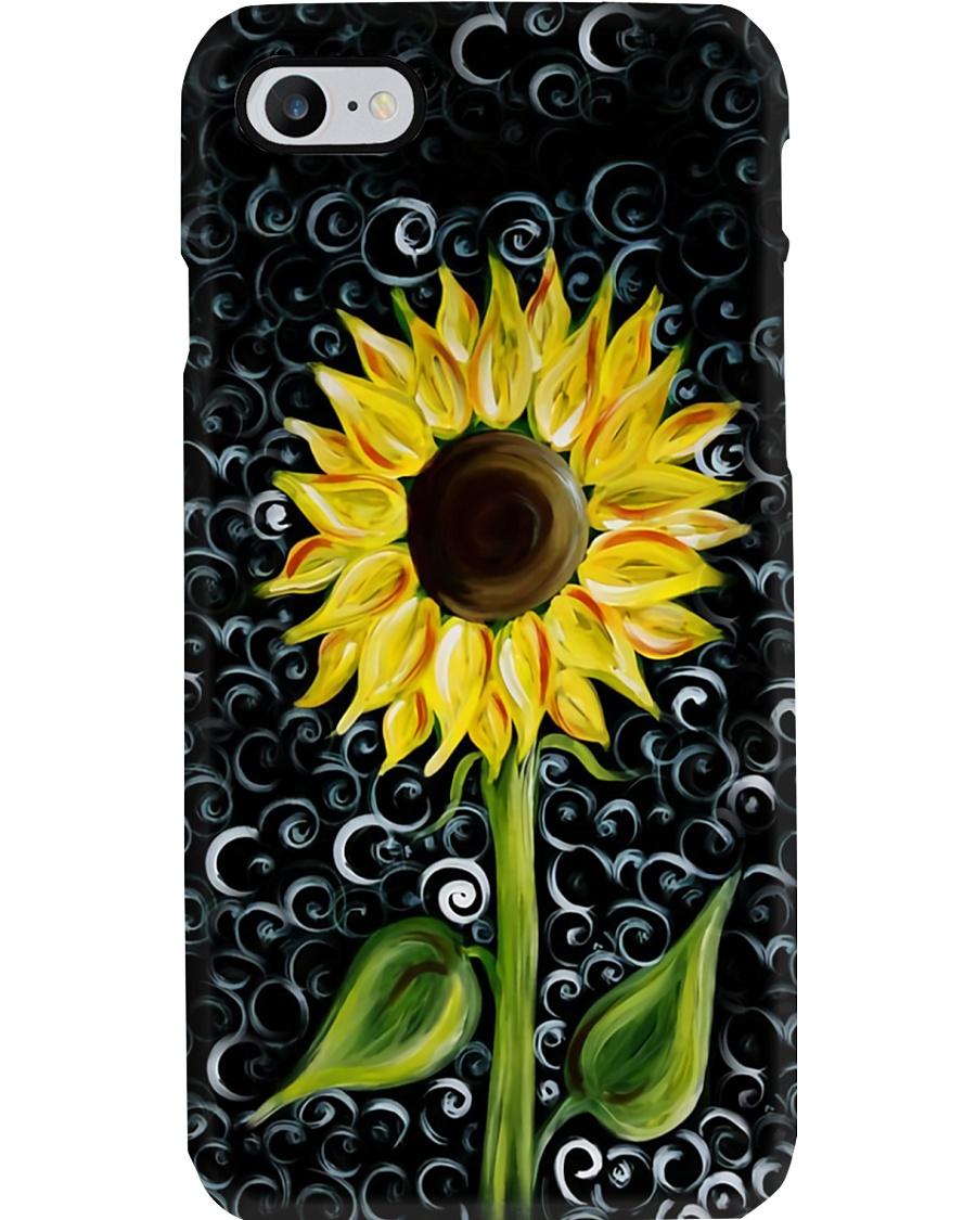 Sunflower Art Phone Case