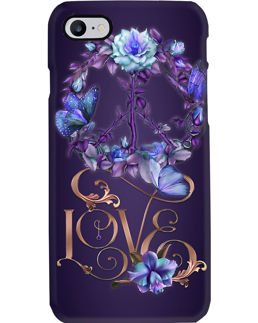 Peace Love Phone Case