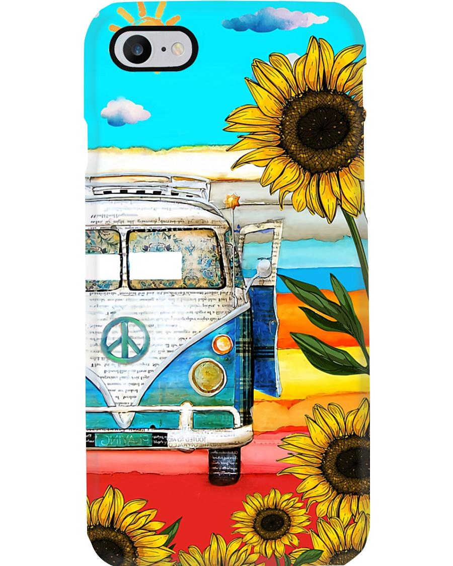 Vw Bus - Sunflower Phone Case