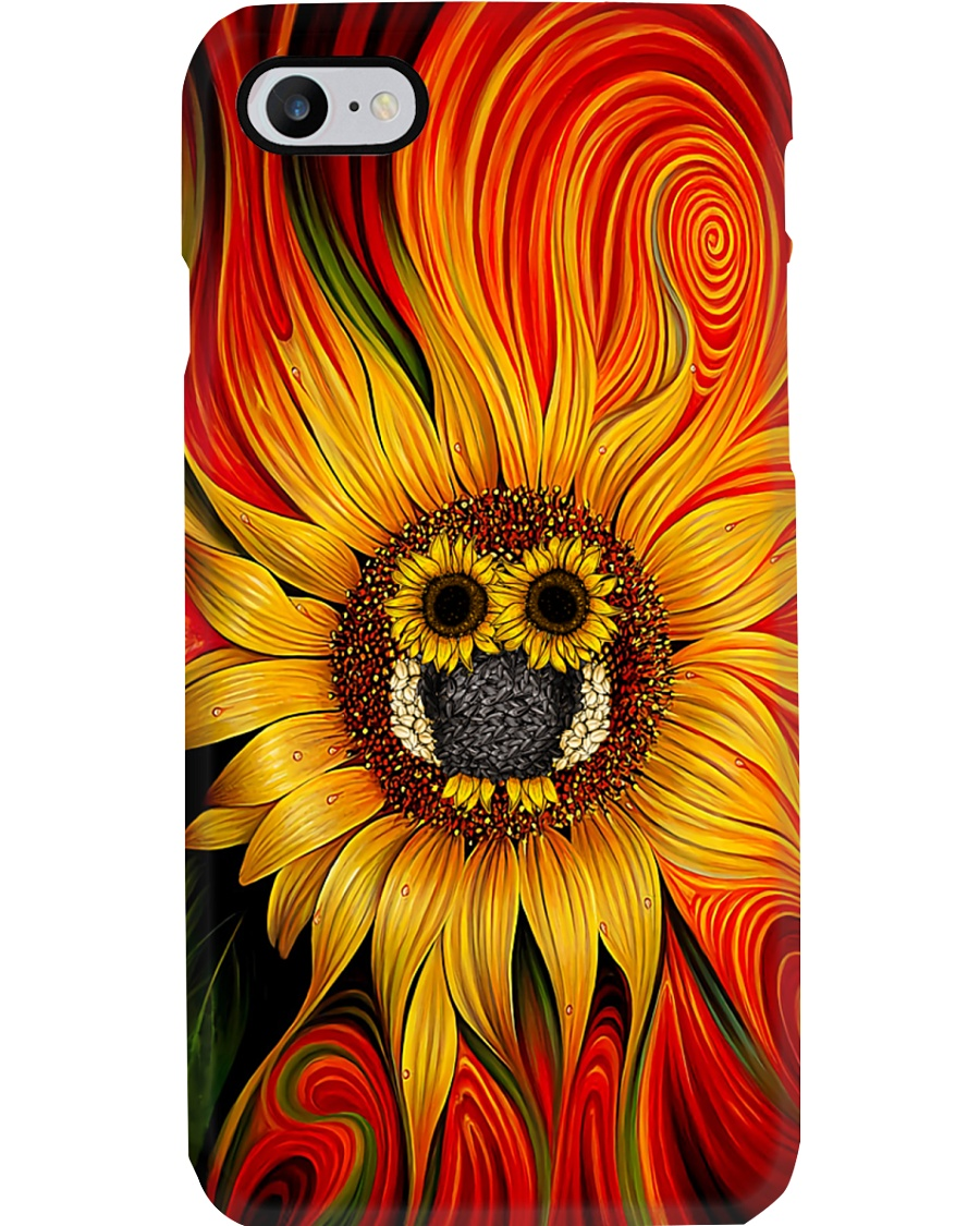Owl - Sunflower Phone Case