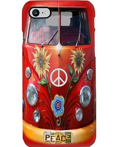VW Bus - Peace Love