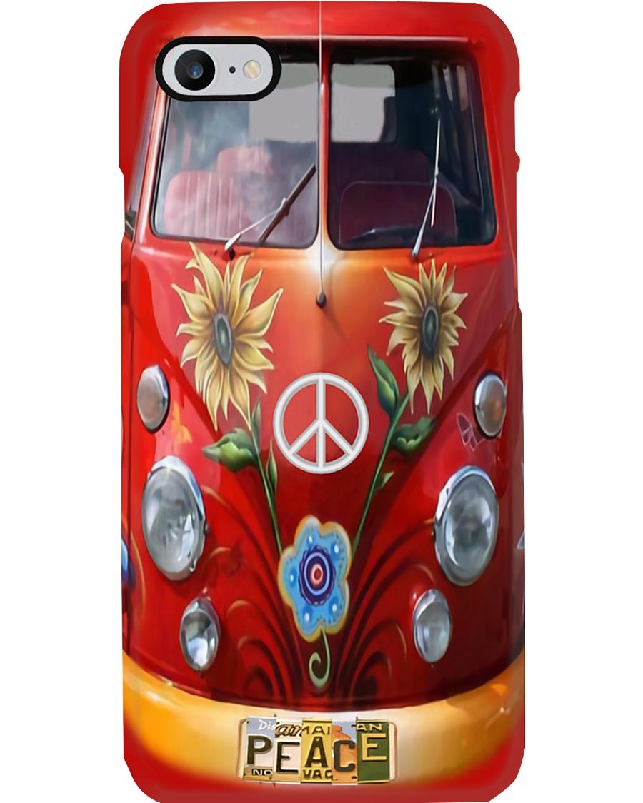 VW Bus - Peace Love Phone Case