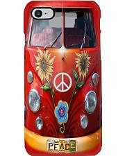 VW Bus - Peace Love Phone Case i-phone-7-case