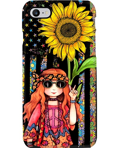 Hippie Girl Sunflower