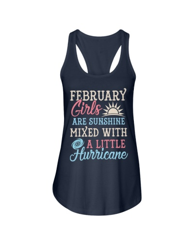 February Girls Are Sunshine Mixed With a Little