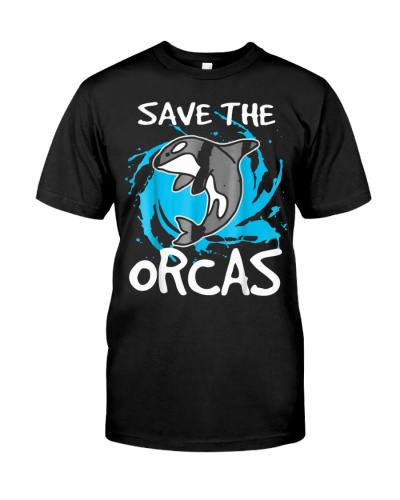 Orca T Shirt Whales Tshirt Save The Tee Marine Bio