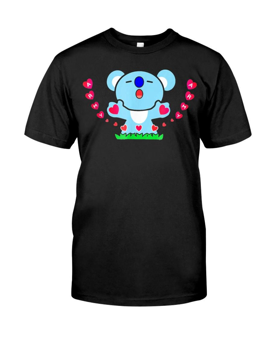 Cute Funny K Pop Koya Shirts Bts Army Merchandise  Classic T-Shirt
