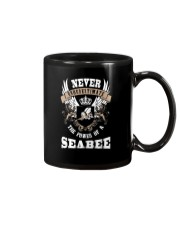Never Underestimate The Power of a Seabee Mug thumbnail