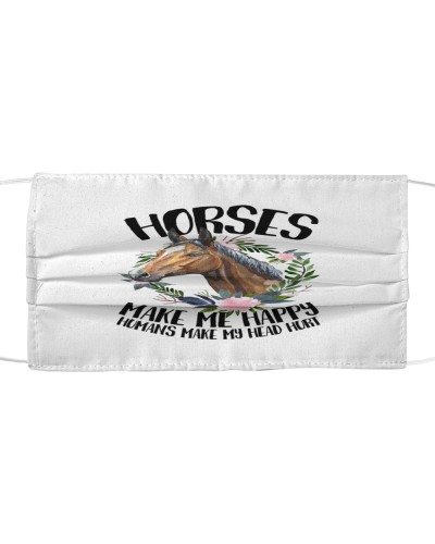 Horse Lovers Face Mask