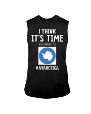 I think it's time you went to antarctica Sleeveless Tee thumbnail