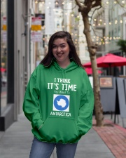 I think it's time you went to antarctica Hooded Sweatshirt lifestyle-unisex-hoodie-front-2