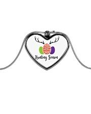 Easter Hunting Season Metallic Heart Necklace thumbnail
