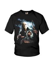 Horror Character 4 Youth T-Shirt thumbnail