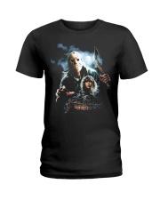 Horror Character 4 Ladies T-Shirt thumbnail