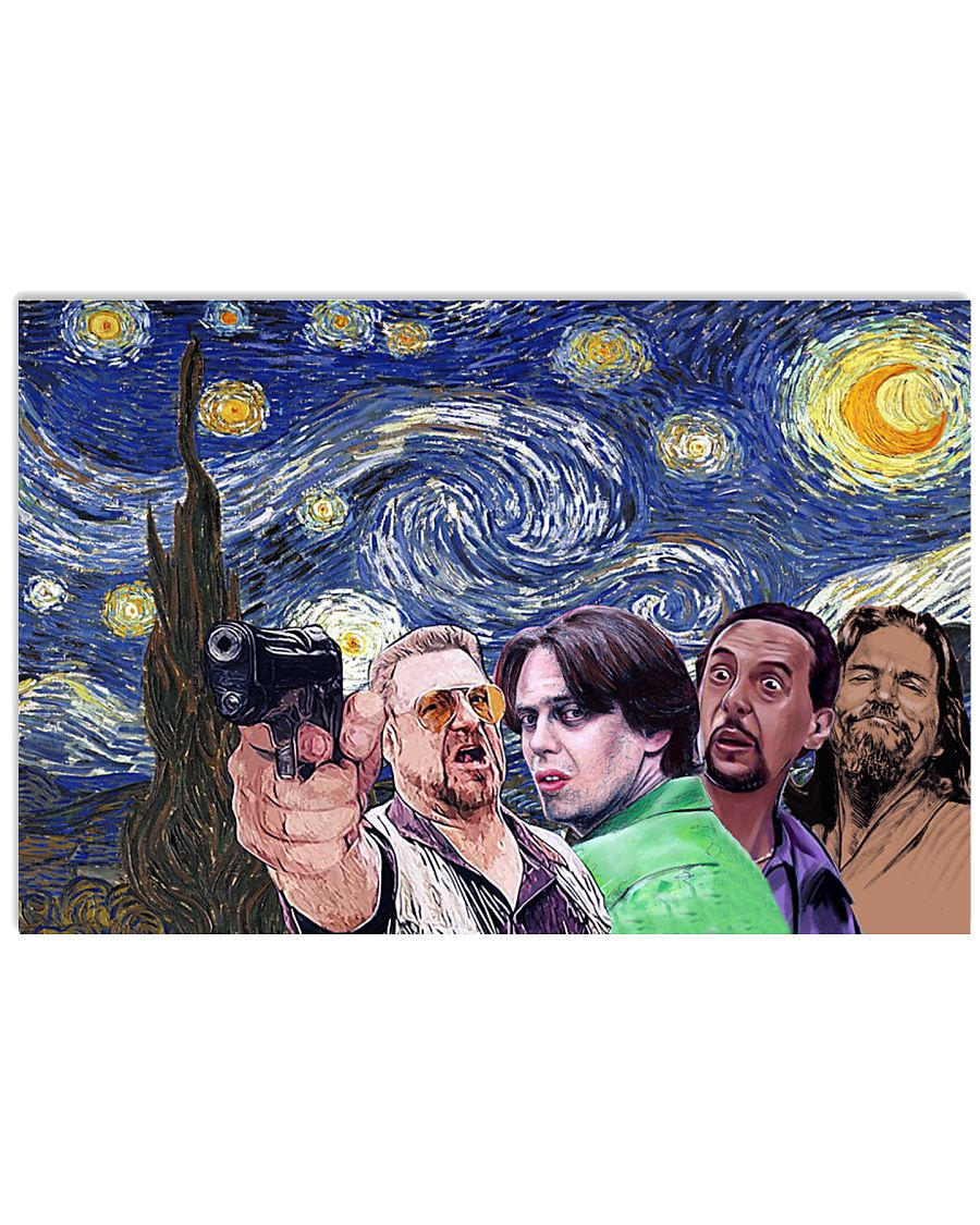 The Dude 36x24 Poster