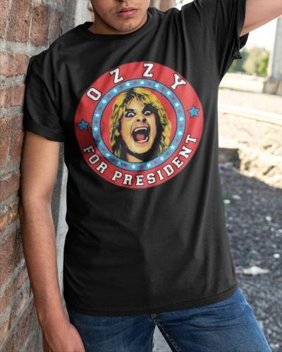 ozzy for president shirt
