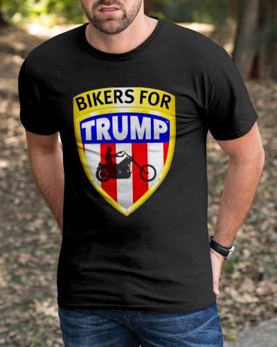 bikers for trump t shirt