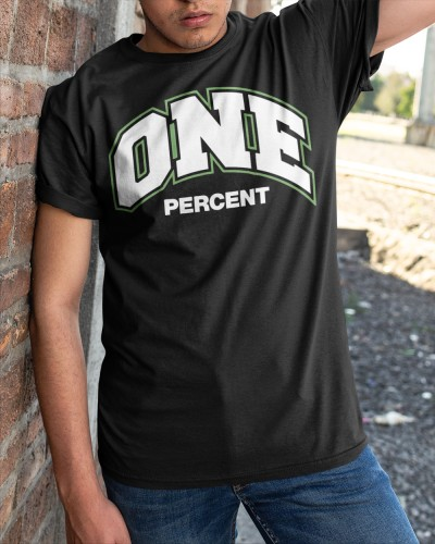 one percent merch shirt