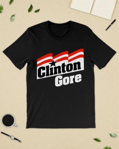 clinton gore 92 shirt
