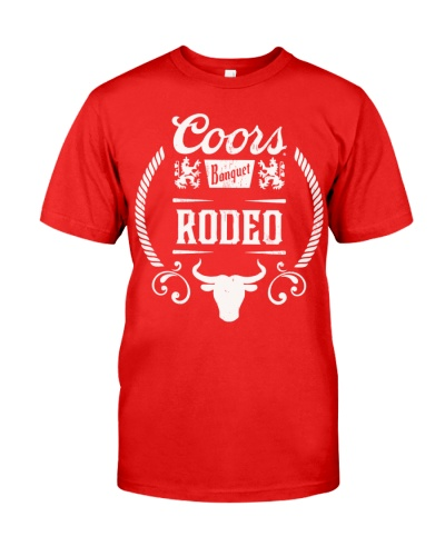 coors rodeo tee shirt