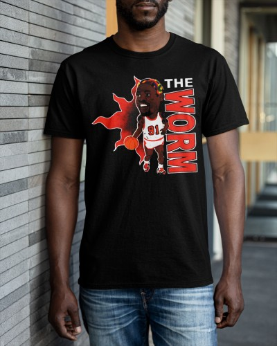 the worm t shirt