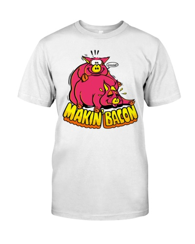 makin bacon t shirt