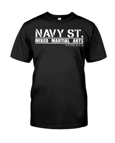 navy st mma t shirt