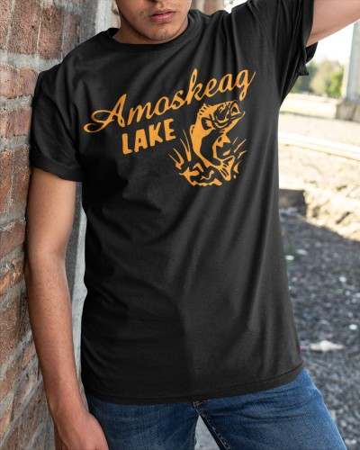 amoskeag lake t shirt