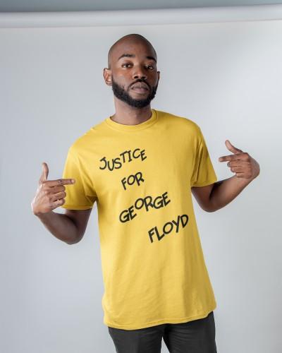 jadon sancho george floyd  t shirt