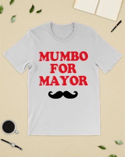 mumbo for mayor tee shirt
