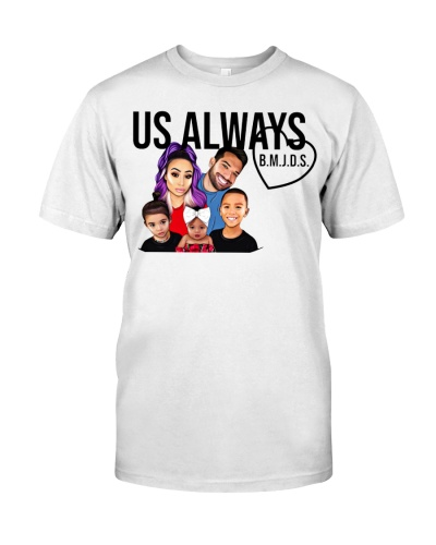us always merch shirt