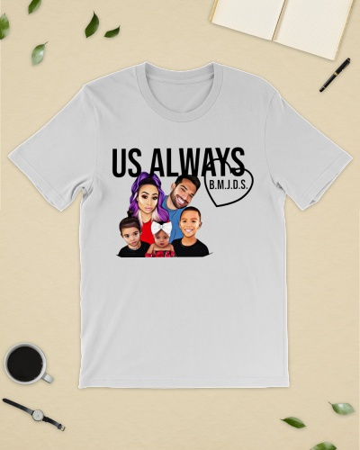 us always merch t shirt