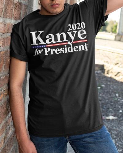kanye for president 2020 t shirt