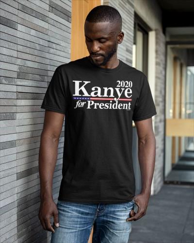kanye for president 2020 shirt