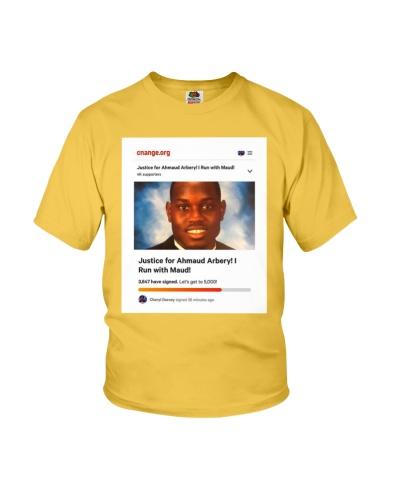 i run with maud tshirt