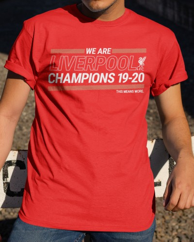 liverpool champions shirt