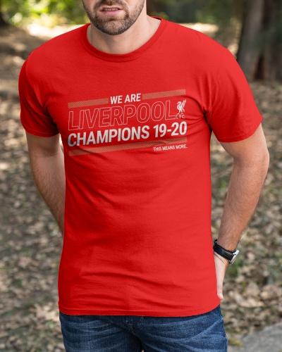 liverpool champions t shirt