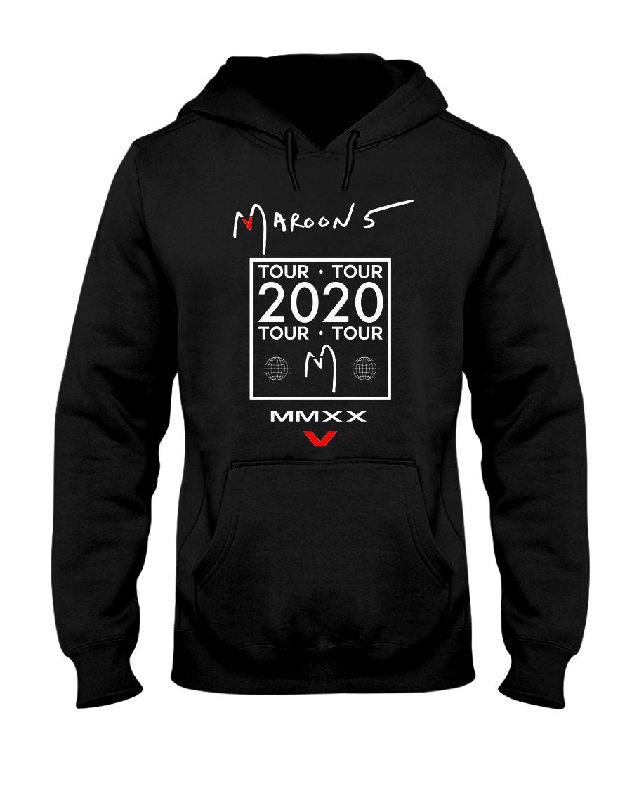 Maroon 5 Tour 2020 T Shirt Hooded Sweatshirt
