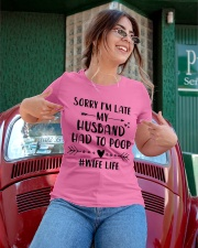 Sorry I'm Late Ladies T-Shirt apparel-ladies-t-shirt-lifestyle-01