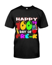 Happy 100 Days Of School Classic T-Shirt front