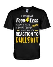 atfood V-Neck T-Shirt thumbnail