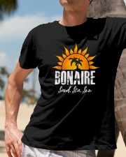 Bonaire-Sand-Sea-and-Sun-Caribbean-Vacation Classic T-Shirt lifestyle-mens-crewneck-front-11