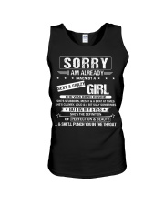 I have a Sexy And Crazy Girl Born June Unisex Tank thumbnail