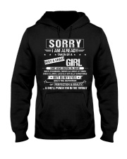 I have a Sexy And Crazy Girl Born June Hooded Sweatshirt thumbnail