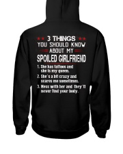 3 Things You Should Know My Spoiled Girlfriend Hooded Sweatshirt thumbnail