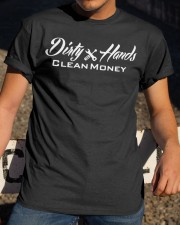 Dirty Hands Clean Money Mechanic Classic T-Shirt apparel-classic-tshirt-lifestyle-28