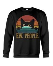 Ew People Cat Crewneck Sweatshirt thumbnail