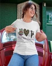 Peace Love Lineman Ladies T-Shirt apparel-ladies-t-shirt-lifestyle-01