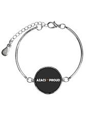 AZACS - Proud 2 Metallic Circle Bracelet thumbnail